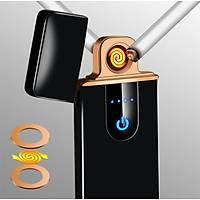 Dokunmatik Alevsiz Tesla Çakmak USB Þarjlý Rüzgardan Etkilenmez Ultra-ince