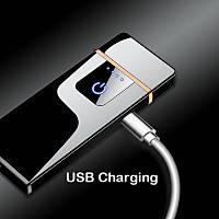 Tungsten Ýndüksiyon Elektronik USB Þarjlý Anti Rüzgar Çakmak