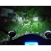 Motosiklet  Su Seçirmez 12W Led Süper Parlak Far 12-80V
