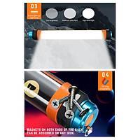 USB Þarj Edilebilir IP68 Su Geçirmez Led Kamp Iþýldak Taþýnabilir El Feneri T15