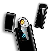 Rüzgar Geçirmez Elektronik Dokunmatik Çakmak Tunsten Kýzdýrma USB Þarjlý