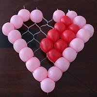 Kalp Balon Organizer Kelepçe Çoklu Balon Dekor