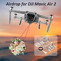 DJI Mavic Air 2 Airdrop Atýcý Sistem Balýkçýlýk Kurtarma Teslimat
