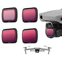 DJI Mavic Air 2 Kamera Lens Filtre Seti ND4 ND8 ND16 ND32