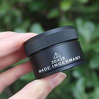 30X W315 Optik Büyüteç Çift Cam Lens Alman Malý Profesyonel