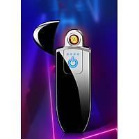 Tesla Bobin Elektrikli Çakmak USB Þarjlý Anti Rüzgar Zarif Tasarým