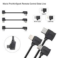 DJI Mavic 2 Zoom Tip-C Veri Kablosu 10 cm Telefonlar Ýçin Siyah Renk