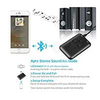 2 in 1 Bt 4.2 Stereo Ses Müzik Verici Alýcý 3.5mm Telefon PC TV Araç Hoperlör
