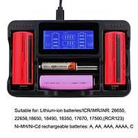 26650 20700 21700 18650 Lityum-iyon Pil Evrensel LCD Akýllý Pil Þarj Cihazý
