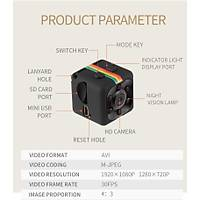 Quelima SQ11 Mini Portatif Kamera 1080P HD DVR  32 Gb
