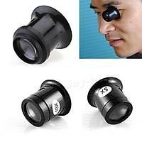 Lüp Büyüteç 10X Monoküler Kuyumcu Saatçi Göz Lens
