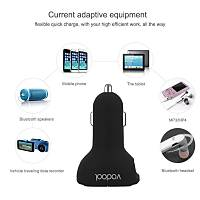Bluetooth FM Verici Dijital Led Araç Kiti Mic USB 2.1A Araç Þarj VODOOL