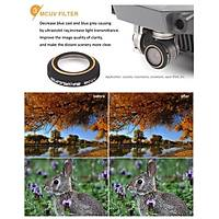 DJI Mavic Pro Alpine White Kamera Lens Ýçin 3 lü Filtre Seti MCUV / CPL / ND8