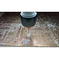 Tungsten Karbür PCB Kesme CNC Freze Ahþap Ýþleme 0.85mm 10 Adet