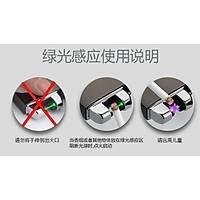 Çift Ark Plazma Alevsiz Çakmak USB Þarjlý Güvenli Yeþil Lacer Sensör Gray Cubes