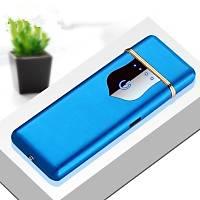 Alevsiz Elektrikli Çakmak USB Þarjlý Anti Rüzgar Dokunmatik Ateþleme
