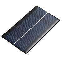 1W 6V Solar Panel Güneþ Pili 100x60x2,5mm boyut