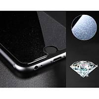 iPhone 6 6S Ýçin Diamond Simli Ekran Koruyucu Tamperli Cam Seffaf Renk Pullu