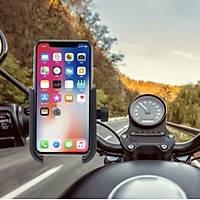 Alüminyum Motorsiklet Cep Telefonu Tutucu Stand USB Þarj Çýkýþlý Gidona Montaj