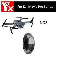 DJI Mavic Pro Platinum Gimbal Kamera Lensi Ýçin ND8 Nötr Yoðunluk YX