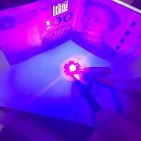 3535 3W UV Led 395-400nm 10-15 lumen 700 mAh 3.2-3.4V 20mm PCB Beyaz Bord