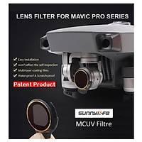 Dji Mavic Pro Kamera Ýçin Kýzaklý Upgrade Versiyon Optik Lens Filtre MCUV