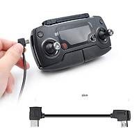 DJI Spark Tip-C Veri Kablosu 10 cm Telefonlar Ýçin Siyah Renk