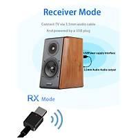 Bt V5.0 Alýcý Verici A2DP AVRCPKablosuz Ses Müzik Adaptörü 3.5mm Aux 3.2Gr