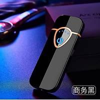Alevsiz Çakmak Parmak Ýzi Dokunmatik Sensör USB Þarjlý Triangle Sheld