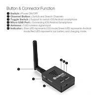 5.8G FPV AV 150CH Alýcý Eachine R051 VR 3D iPhone Android Tablet