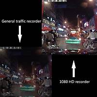 1080P Full HD 3.0 inç DVR Araç Kamera Kaydedici G-sensor Gece Görüþ