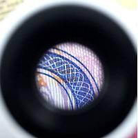 Led Iþýklý 40X Microscope Akrilik Büyüteç Taký Ýçin ON/OFF 3 Adet AAA Pil Ýle Çalýþýr