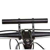 Bisiklet Bisiklet Gidon Tutucu 20 cm Çift Ayak Uzatma Bar Kilometre Fener Montaj