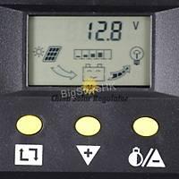80A Solar Þarj Regülatörü 12 V 24 V 1000 W 2000 W