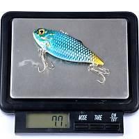 PROFISHER Mavi/Siyah Sert Yapay Balýk Yem 6,5 cm 7,7 gr # 8