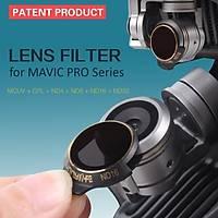 DJI Mavic Pro Alpine White Kamera Ýçin Kýzaklý Upgrade Versiyon Optik Lens Filtre CPL
