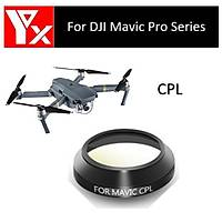 DJI Mavic Pro Alpen White Gimbal Kamera Lensi Ýçin CPL Filtre Dairesel Polarize YX
