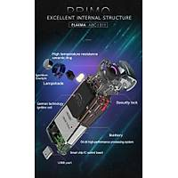 Darbeli Ark Plazma Rüzgar Cakmaðý Alevsiz USB Þarjlý Elektrikli Gun Metal