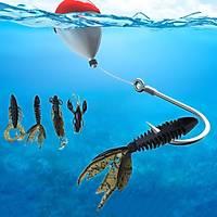 4 Farklý Silikon Yapay Deniz Kabuklusu 1,6 - 1,8 - 2,0gr