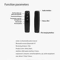 Bluetooth Alýcýsý Mobil Ses Adaptörü Araç TF Kart Okuyucu Kulaklýk