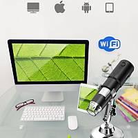 1000X Wifi Kablosuz Dijital USB Mikroskop 8 Ayarlý Ledli Standlý