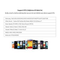 DJI Spark  25cm Tablet/Telfon Kablo Adaptörü