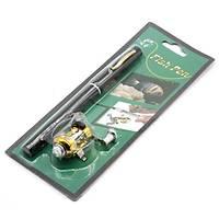 Süper Mini Cep Kalem Olta 23 cm Karbon/Alüminyum Kamp Seyahat