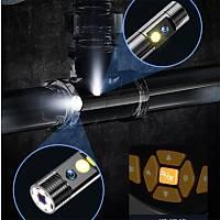 5.5mm Çift Lens 1 mt Yarý Sert Kablo 1080P Endüstriyel Endeskop