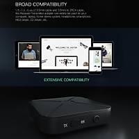 Bluetooth 4.2 Alýcý(RX)/Verici(TX) Kablosuz Ses Adaptörü 3.5mm Aux