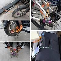 Motorsikler Bisiklet Alarmlý Disk Fren Kilidi 8mm Sabit Güvenlik