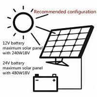 PWM 30A Solar Þarj Regülatörü 12V 24V LCD Ekran Çift USB