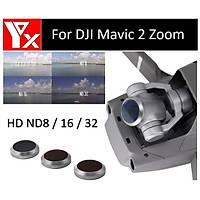 Dji Mavic 2 Zoom Kamera Lensi Ýçin 3 lü Filtre Set HD ND8/16/32 Nötr Yoðunluk