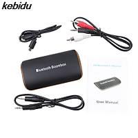 Kablosuz Araç Kiti 3.5mm AUX Bluetooth 4.1 Stero Ses Müzik Alýcýsý 2 Telefon Baðlanma