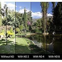 DJI Mavic Pro HD ND8 Filtre Optik Lens Siyah Alüminyum